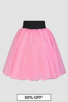 Balmain Girls Pink Skirt