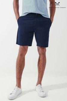 Crew Clothing Company Navy Draw Cord Shorts