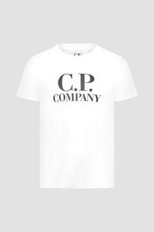 CP Company Boys White T-Shirt
