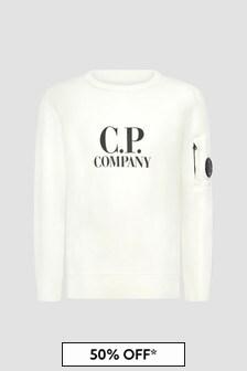CP Company Boys Sweat Top