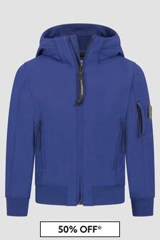 CP Company C.P. Company Boys Blue Jacket