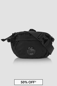 CP Company Boys Black Bag