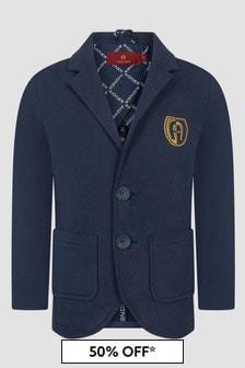 Aigner Boys Navy Jacket