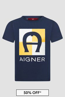 Aigner Baby Boys Navy T-Shirt