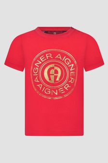 Aigner Baby Boys Red T-Shirt