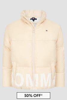 Tommy Hilfiger Boys Cream Jacket