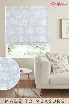 Cath Kidston Grey Washed Rose Made To Measure Roman Blind