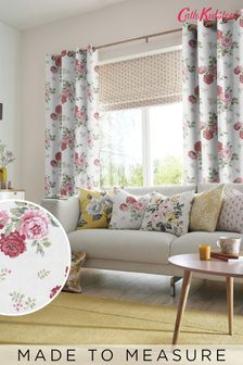 Cath Kidston Antique Rose Pink Made To Measure Curtains