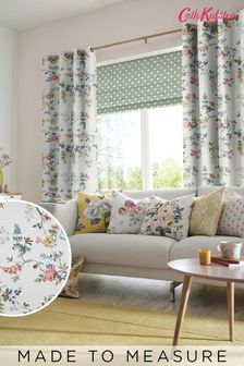Cath Kidston White Birds & Roses Made To Measure Curtains