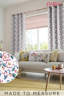 Cath Kidston Climbing Blossom Blush Made To Measure Curtains