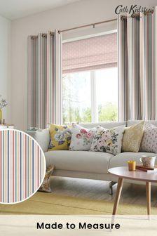 Cath Kidston Cream Mid Stripe Made To Measure Curtains