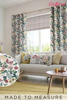 Cath Kidston Green Twilight Garden Made To Measure Curtains