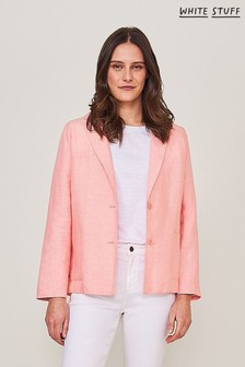 White Stuff Pink Winnie Blazer