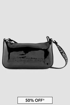 Calvin Klein Jeans Girls Black Cross Body Bag