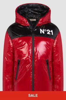 N°21 Boys Red Jacket