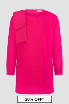 N°21 Girls Pink Dress