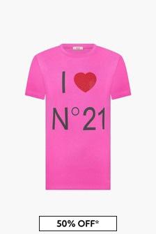 N°21 Girls Purple T-Shirt