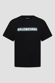 Balenciaga Kids White T-Shirt