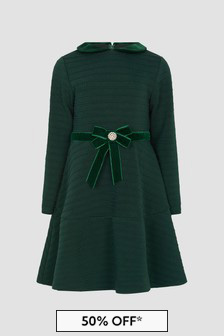 Patachou Girls Green Dress