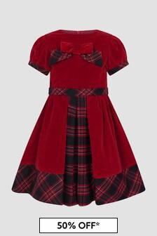 Patachou Girls Red Dress