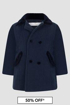 Patachou Boys Navy Coat