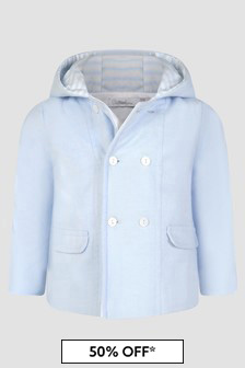 Patachou Baby Boys Blue Jacket
