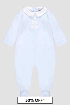 Patachou Baby Boys Blue Sleepsuit