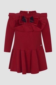 Patachou Baby Girls Red Dress