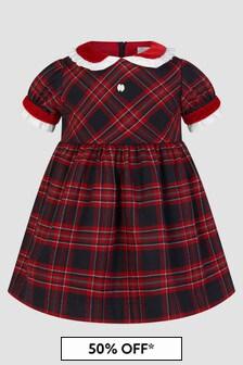 Patachou Baby Girls Navy Dress