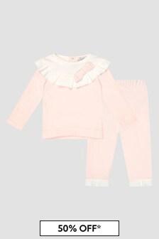 Patachou Baby Girls Pink Set