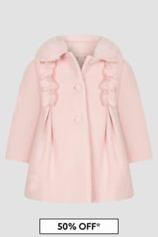 Patachou Baby Girls Pink Coat