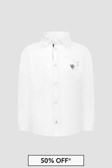 Tartine et Chocolat Baby Boys White Shirt
