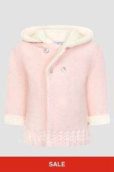 Tartine et Chocolat Baby Girls Pink Coat