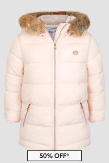 Tartine et Chocolat Baby Girls Pink Jacket