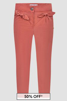Tartine et Chocolat Baby Girls Pink Trousers