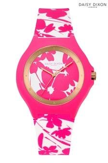 Daisy Dixon White/Pink Strap Watch