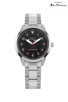 Ben Sherman Kids Gift Set With Silver Bracelet Watch