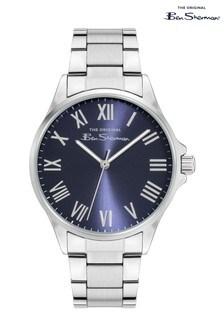 Ben Sherman Silver Stainless Steel Bracelet Watch