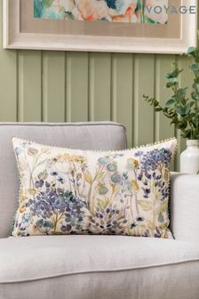 Voyage Purple Hedgerow Cushion