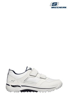 Skechers White Go Golf Arch Fit Front Nine Sports Shoes