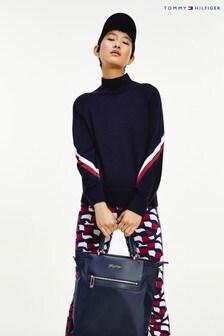 Tommy Hilfiger Blue Global Stripe Sweater