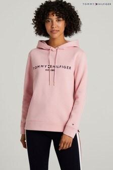 Tommy Hilfiger Pink Regular Hilfiger Hoodie