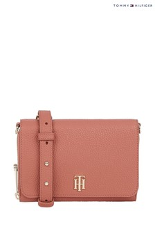 Tommy Hilfiger Pink Soft Small Cross-Body Bag