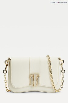 Tommy Hilfiger Natural The Lock Cross-Body Bag