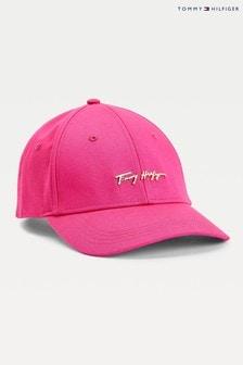 Tommy Hilfiger Pink Signature Cap