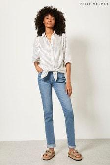 Mint Velvet Blue Houston Slim Jeans