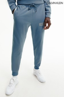 Calvin Klein Blue Knit Sweatpants