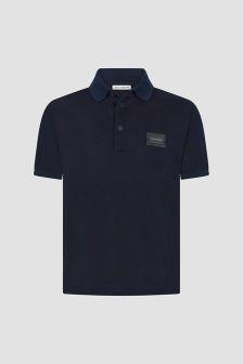 Dolce & Gabbana Kids Boys Navy Polo Shirt