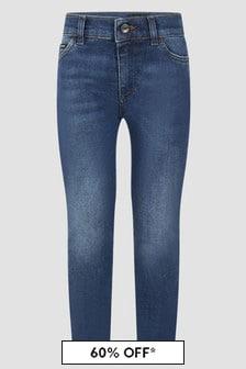 Dolce & Gabbana Kids Boys Navy Jeans