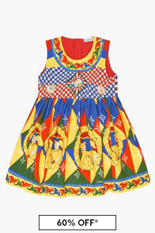 Dolce & Gabbana Kids Baby Girls Multi Dress